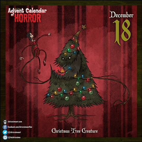 Day 18: Christmas Tree Creature