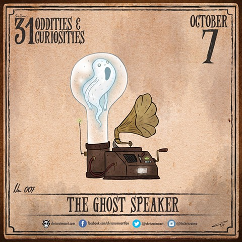 Day 7: The Ghost Speaker