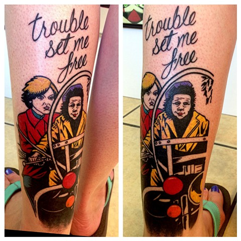 a harold and maude tattoo by vincent. vincentiusmaximus
