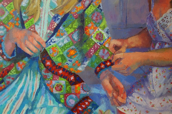 Coat of Many Colors, Detail