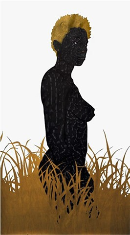 Toyin Odutola Rather Than Look Back, She Chose to Look At You