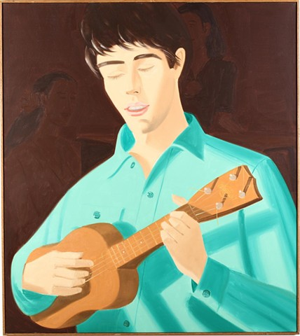 Alex Katz Yukelele Player
