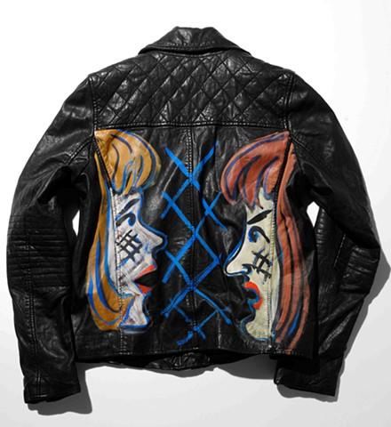 Ella Kruglyanskaya Untitled (Barneys New York Women's Custom Leather Jacket)