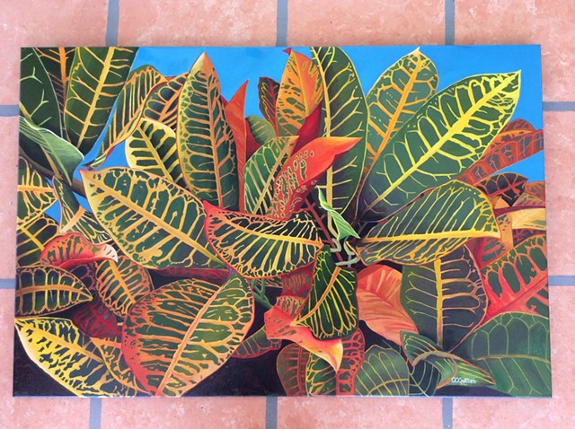 More leaves on the lanai