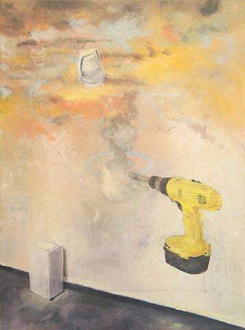 Drill, landscape, gallery