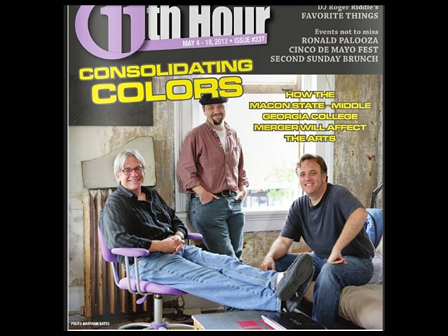An article featuring myself and two other colleagues from Macon State College who all have studios at the Arts Exchange in downtown Macon, GA.