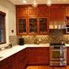 Traditional Mahogany Kitchen