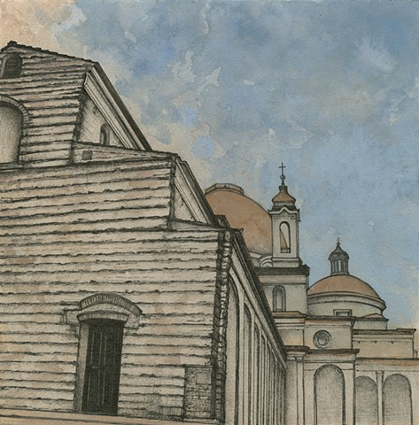 San Lorenzo Paul Flippen painting drawing