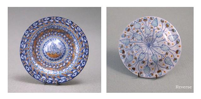 handmade miniature ceramic dish