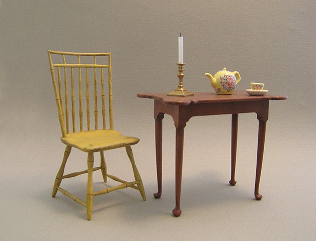 Handcrafted miniature furniture