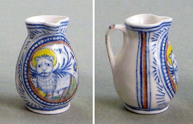 Miniature pottery jug by LeeAnn Chellis Wessel
