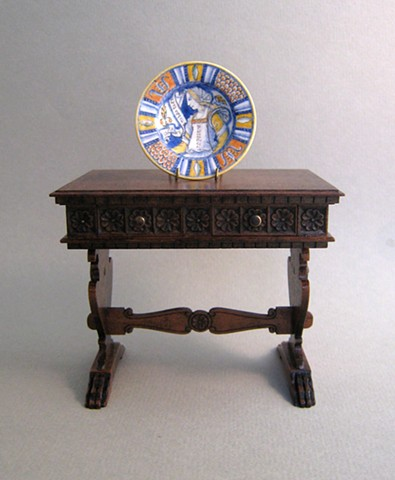 hand made miniature furniture  replica of antique