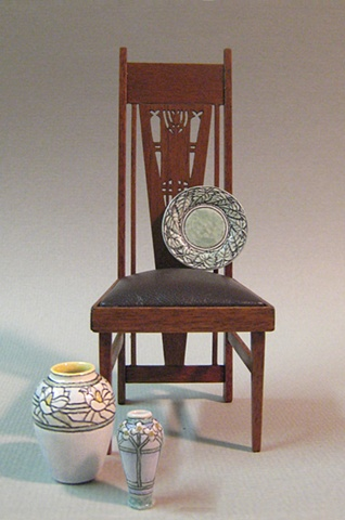 Miniature Elmslie chair