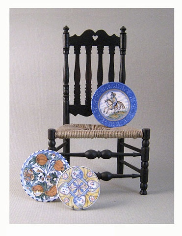 Bannister Back Chair