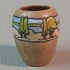 SEG Taupe Vase with Landscape