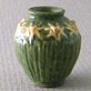 Grueby Daffodil Vase