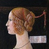 """ Portrait of Giovana Tornabuoni"" after Domenico Ghirlandaio 1488"