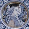 Deruta Plate with Young Boy