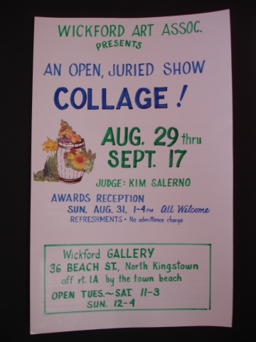 "Wickford Art Association ""Collage"" Open Juried Show"
