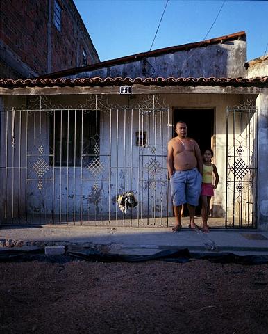 Kel and his niece, Capim Grosso, Bahia; 2009