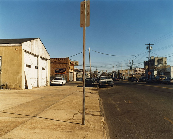 Bus Stop, Long Branch, New Jersey; North+South Series, 2005