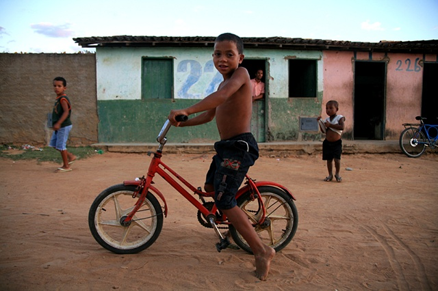 Boy and Bike, Piabas, Bahia; 2009