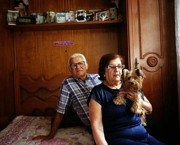 Tia Vera, Tio Ruy and Kelly, Tijuca, Rio de Janeiro; 2007