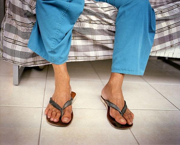 Vovô's legs, Barra da Tijuca, Rio de Janeiro; 2007