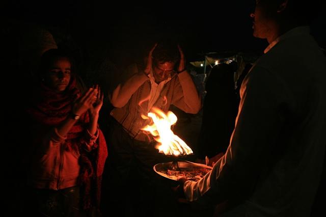 Worshipers; Haridwar, Uttarakhand