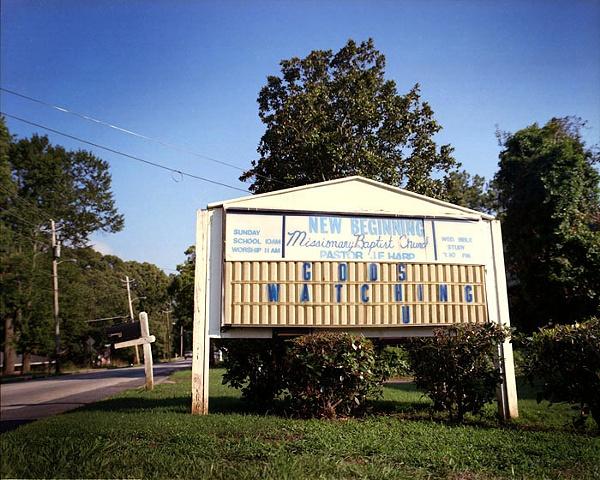 God is Watching U, East Atlanta; North+South Series, 2008