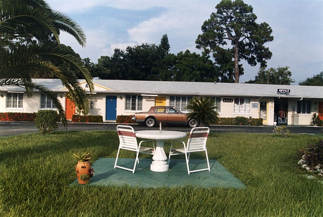 Motel, Sarasota, Florida; North+South Series, 2004