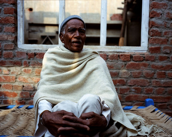 Village grandfather; Bhojpur, Uttar Pradesh