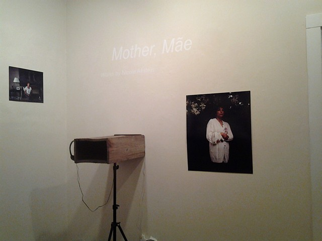 Mother, Mãe works in joint exhibition, Close