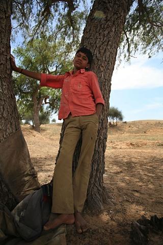 Boy; Thar Desert, Rajasthan