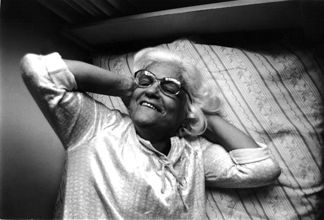 Tia Isa in her bed, Tijuca, Rio de Janeiro; 2003