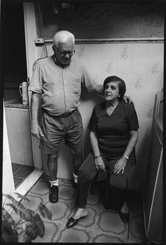 Tia Vera and Tio Ruy, Tijuca, Rio de Janeiro; 2003