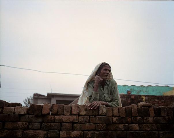 Village neighbor; Bhojpur, Uttar Pradesh