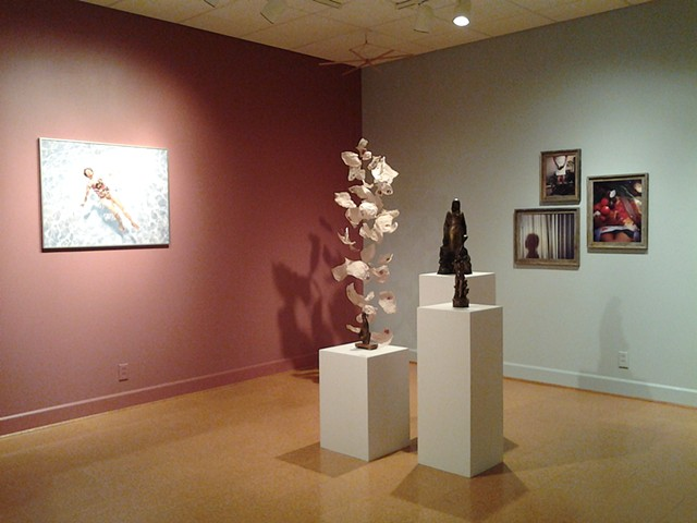 Mother, Mãe works in One To Three group exhibition