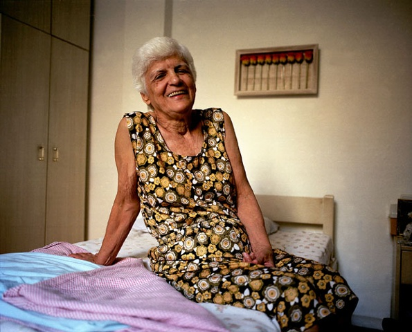Tia Isa in her new apartment, Tijuca, Rio de Janeiro; 2007