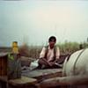 A man on his cart; Dhampur, Uttar Pradesh