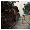 Woman and cloth; Bhojpur Village, Uttar Pradesh
