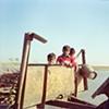 Kids; Village outside of Dhampur, Uttar Pradesh