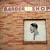 Barber Shop, East Atlanta; North+South Series, 2008