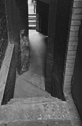 Alleyway, Chicago 1986