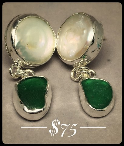 Emerald Seas Earrings
