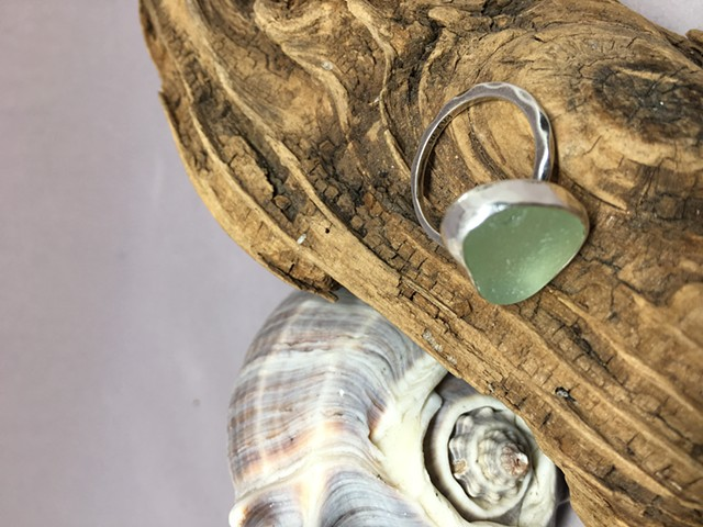 6.25 Seafoam Green Ring