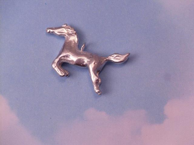 Leaping Pony Pendant