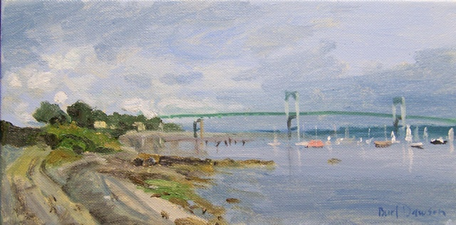 East Ferry, Jamestown, Rhode Island, Newport Bridge