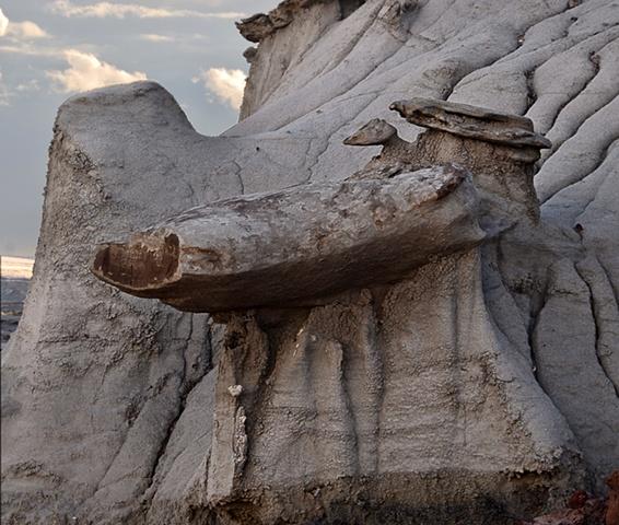 Snout Rock Nov 11 Bisti Wilderness 254-55 Combo  Nov 2010
