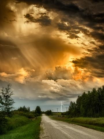 Prairie Storm  August 2013